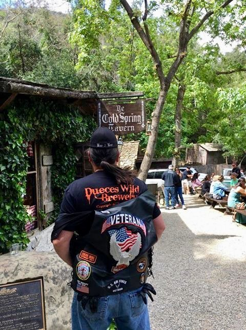 Bikers Destination, Cold Springs Tavern, Central Coast Mountains in California. Thank you Brian!