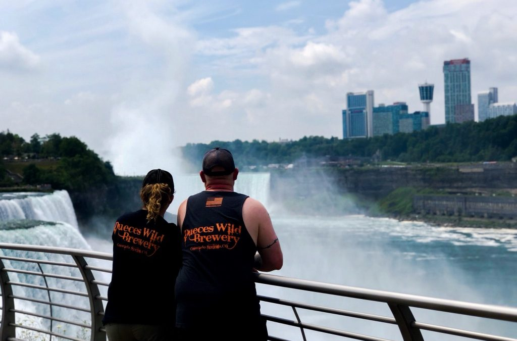 Niagara Falls, New York. Thank you Jo & Whitney