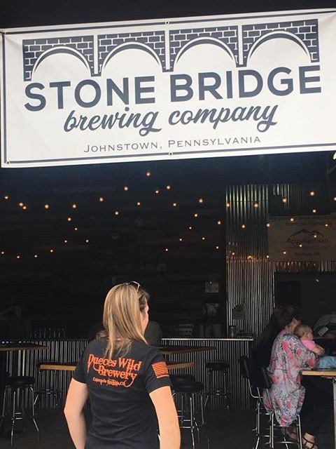 Stone Bridge Brewing Co.- Johnstown, PA. Thank you Jen!