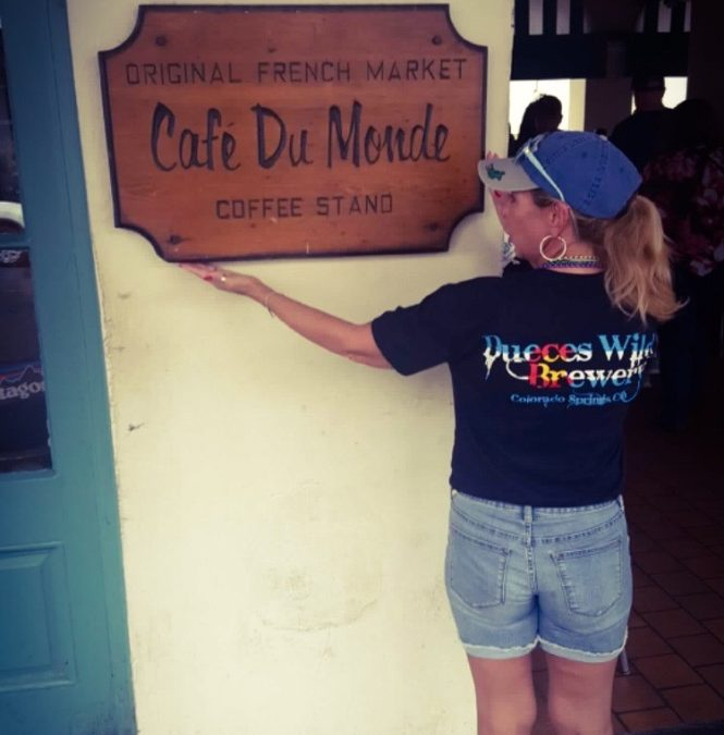Cafe Du Monde- New Orleans, LA. Thank you Ann!