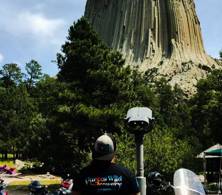 Devil's Tower, WY.