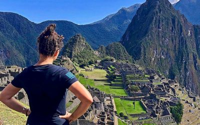 Machu Picchu. Thank you Ranae!