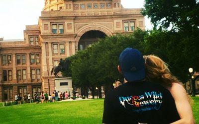 State Capitol- Austin TX. Thank you Eric & Rhea!