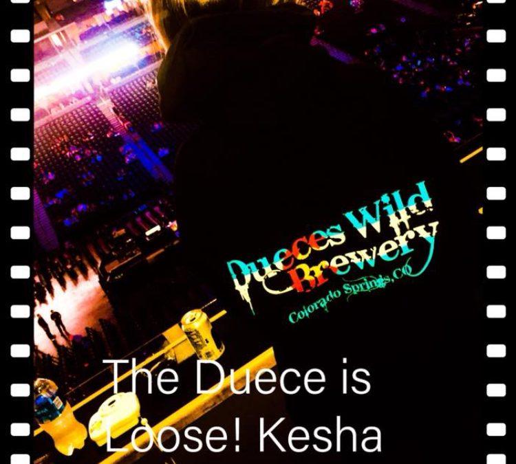 Ke$ha Concert, Pepsi Center, Denver. Thank you Meryl!